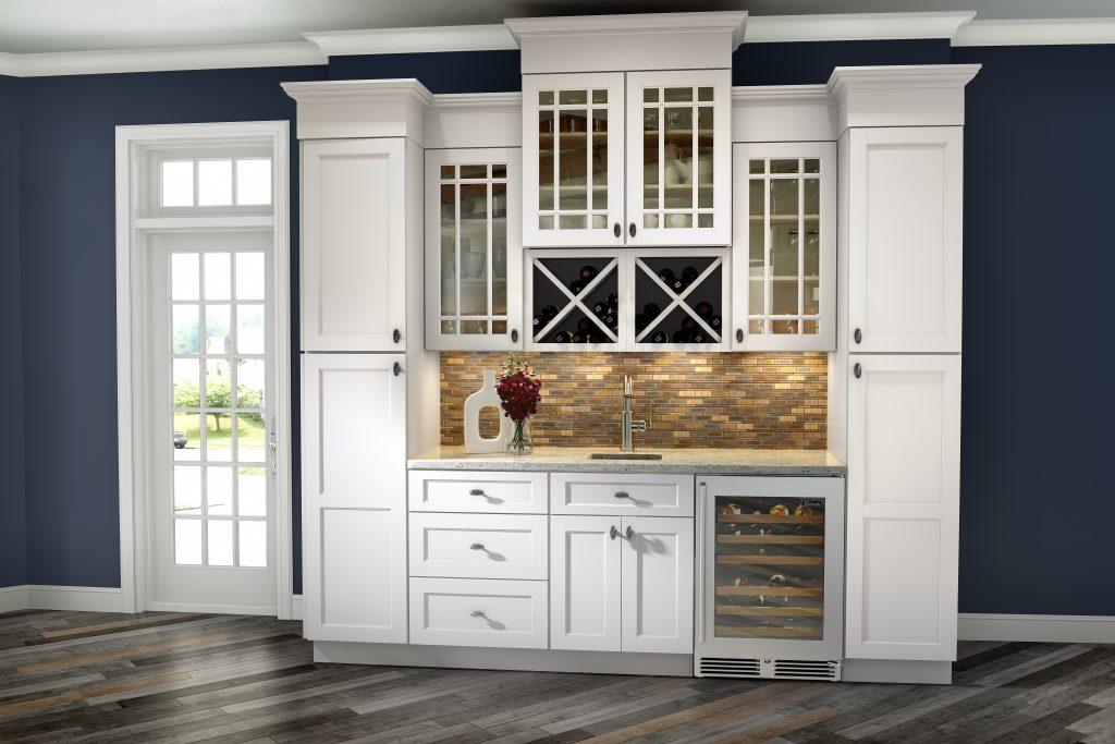 Trenton Door Style Hutch