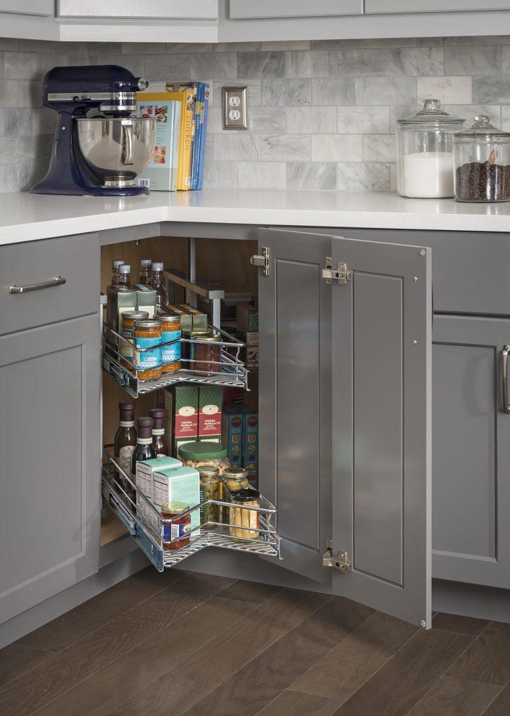 Corner-Cabinet System