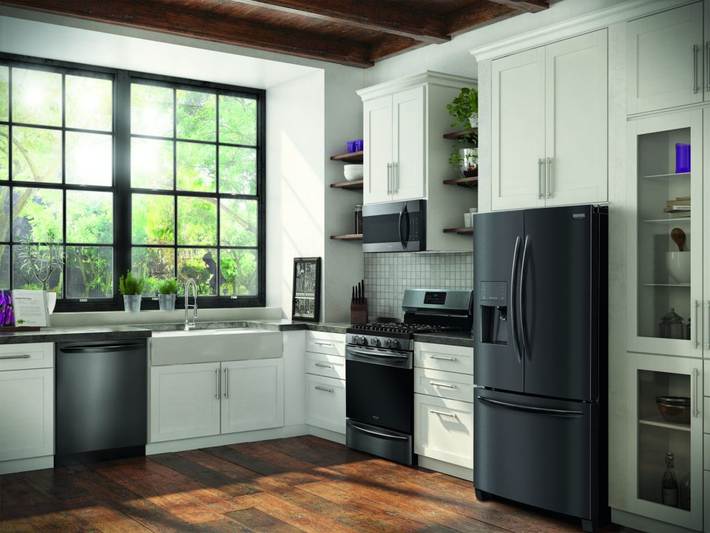 Black Stainless Appliance Finish