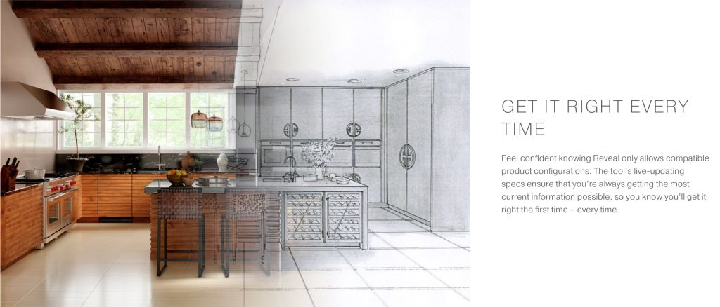 Appliances, cabinet configuration tool