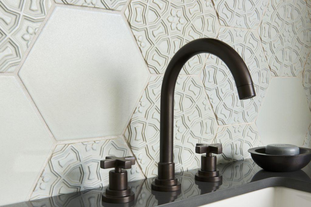 Old Spanish Details Inspire Terra Cotta Tiles