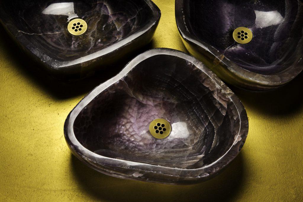 Wabi Onyx Vessel Sink