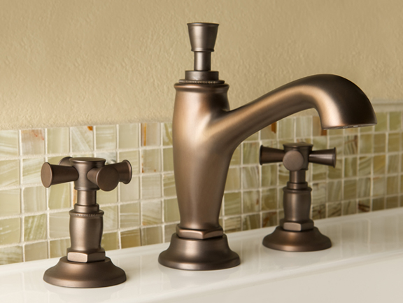 Faucet Blends Classic and Industrial Looks