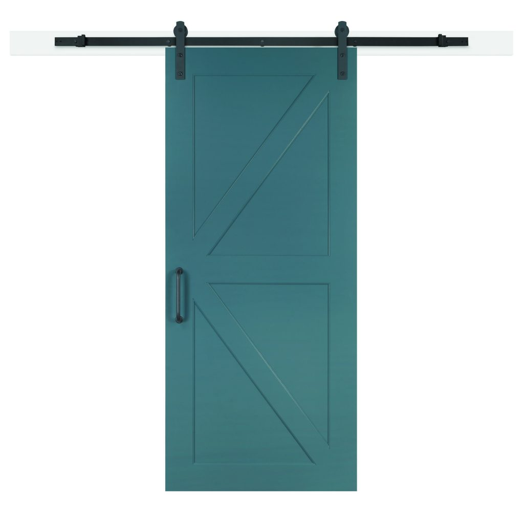 Barn door kits install in a day
