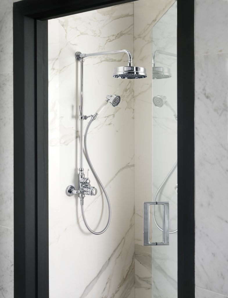 Thermostatic Wall-Mounted Shower System