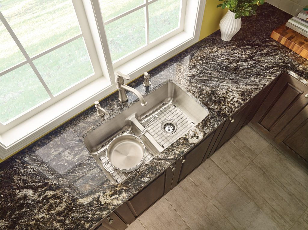 Low-Divide Sink