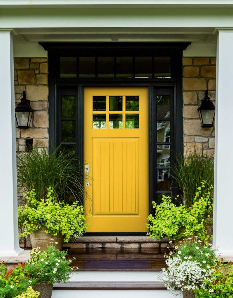 Collection adds color to the front door