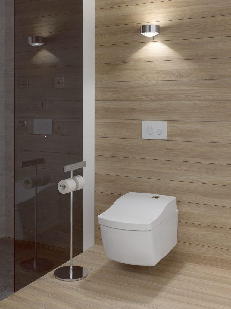 Wall-mount intelligent toilets