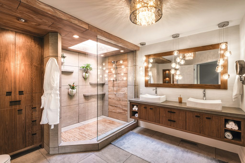 Bath Remodel: Tropical Shower