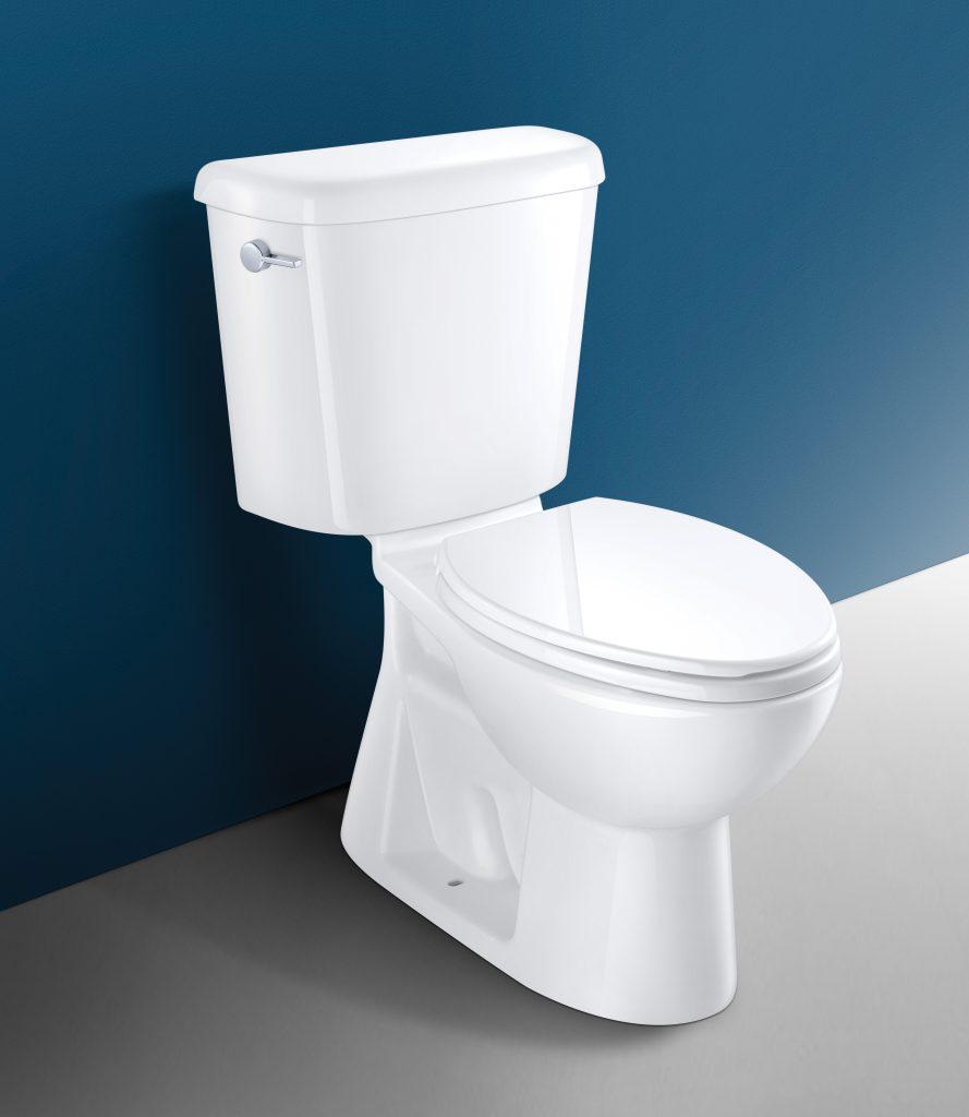 Water-saving high-efficiency toilet