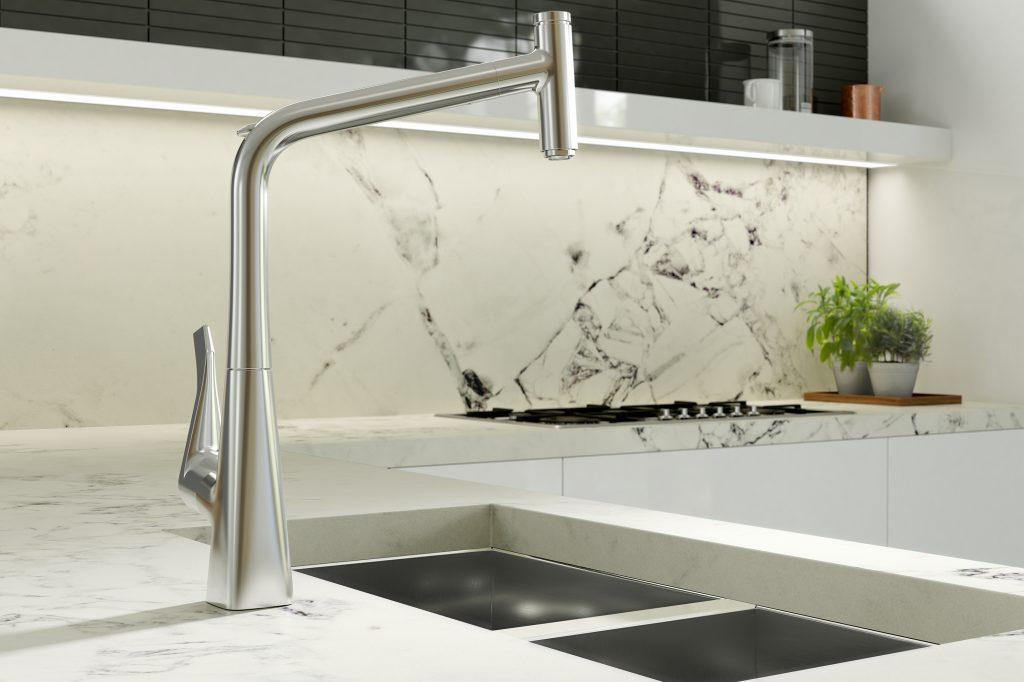 Metris Select HighArc Kitchen Faucet