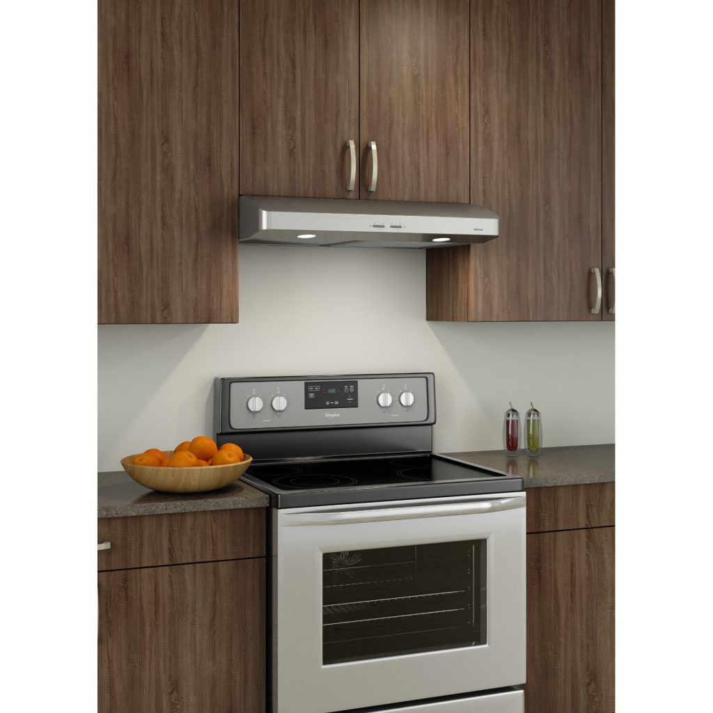 Range hood series blends with contemporary design