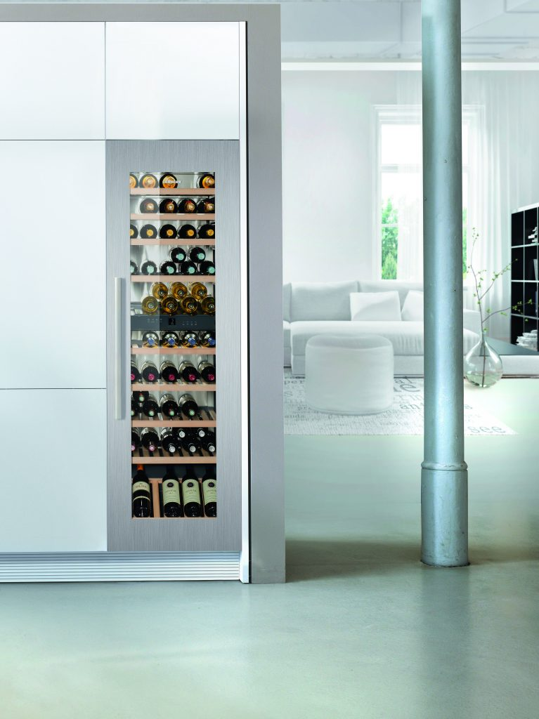 Integrated Wine Cabinet