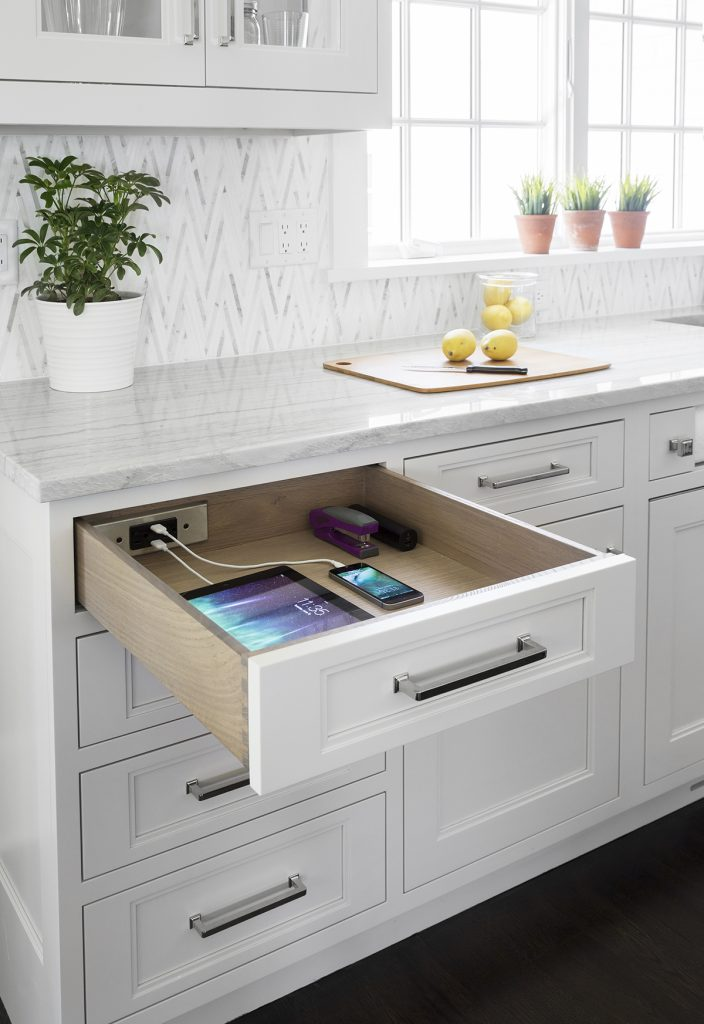 Blade Series In-Drawer Charging Outlets
