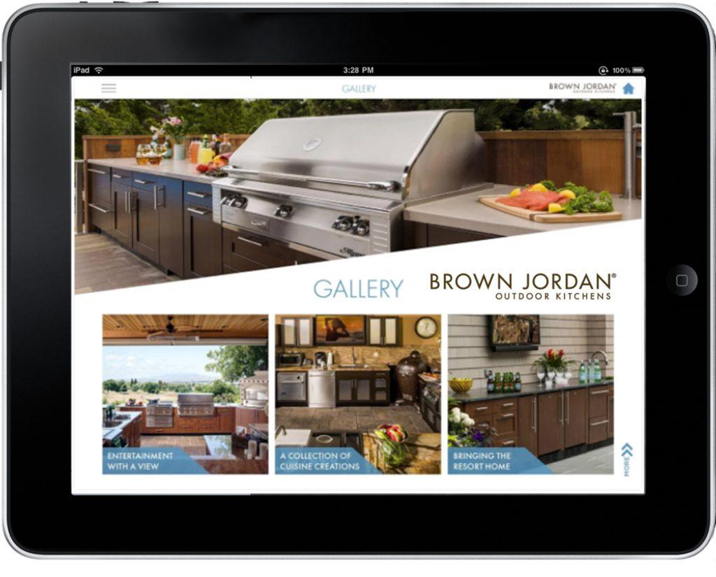 What's App: Brown Jordan Outdoor Kitchens