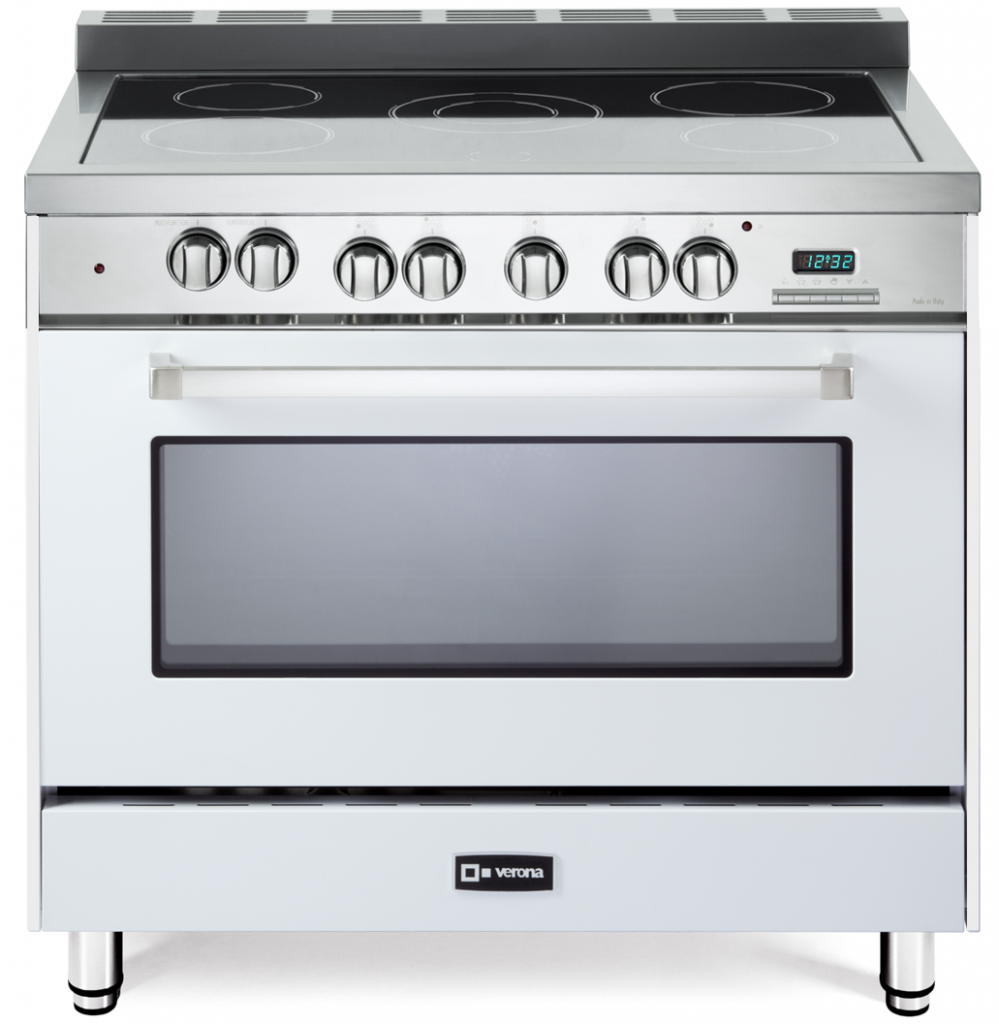 All-electric range series adds white option