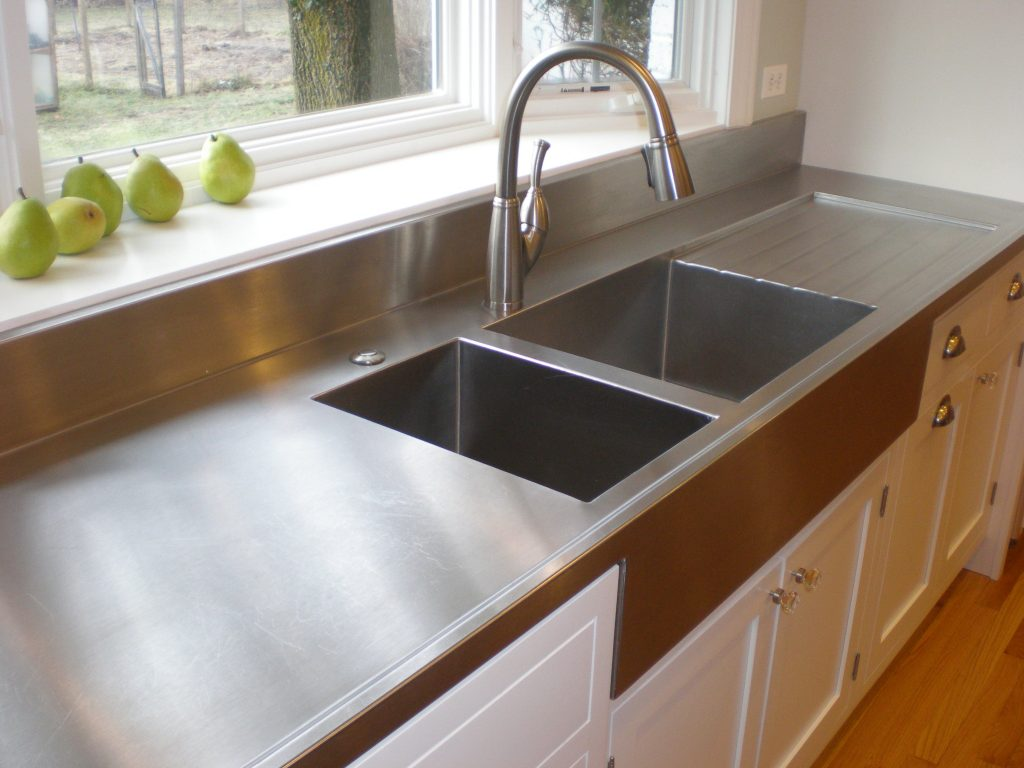 Custom Stainless Countertops