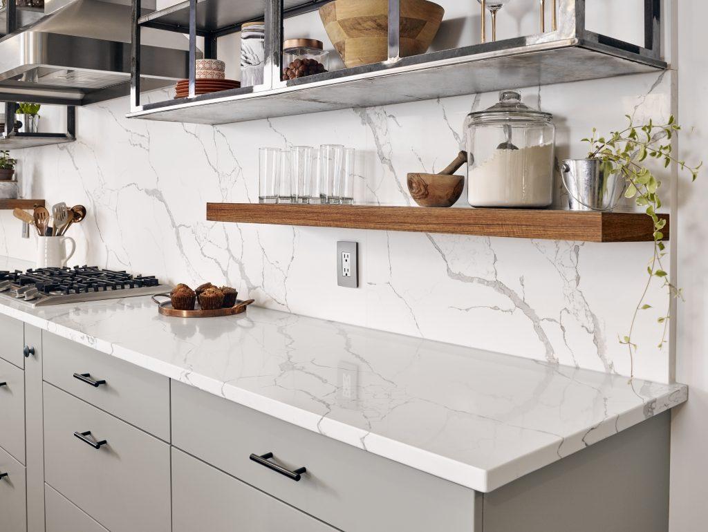 Marble-Look Quartz