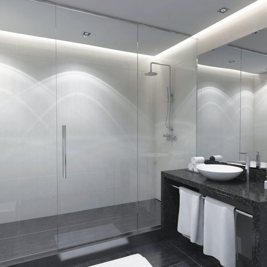 Transpara Glass Shower Enclosure