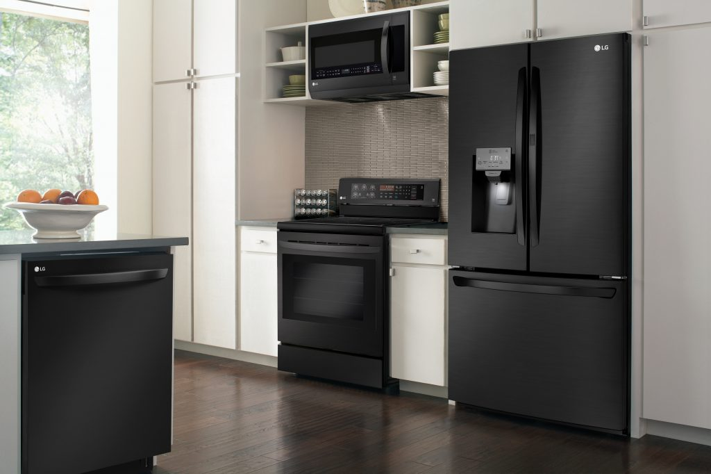 Matte Black Stainless Appliances