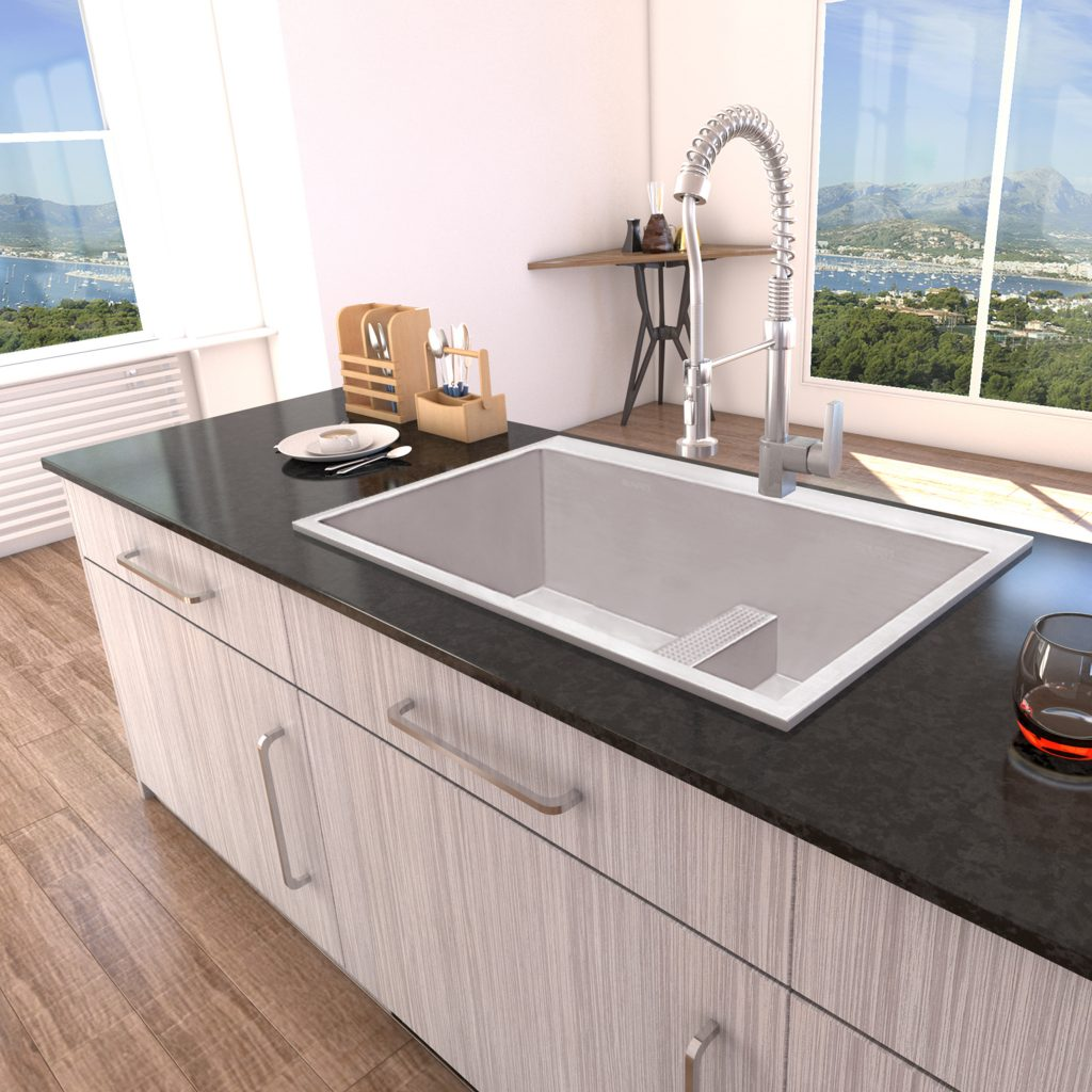 Perfect Divide Kitchen Sink