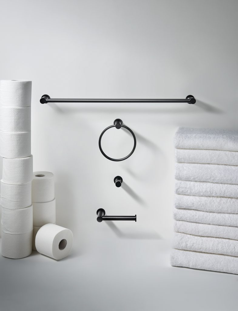 Matte Black Bath Accessories