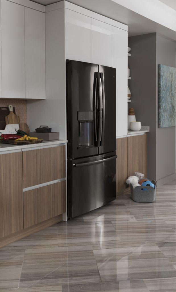 Appliance suites in four finishes