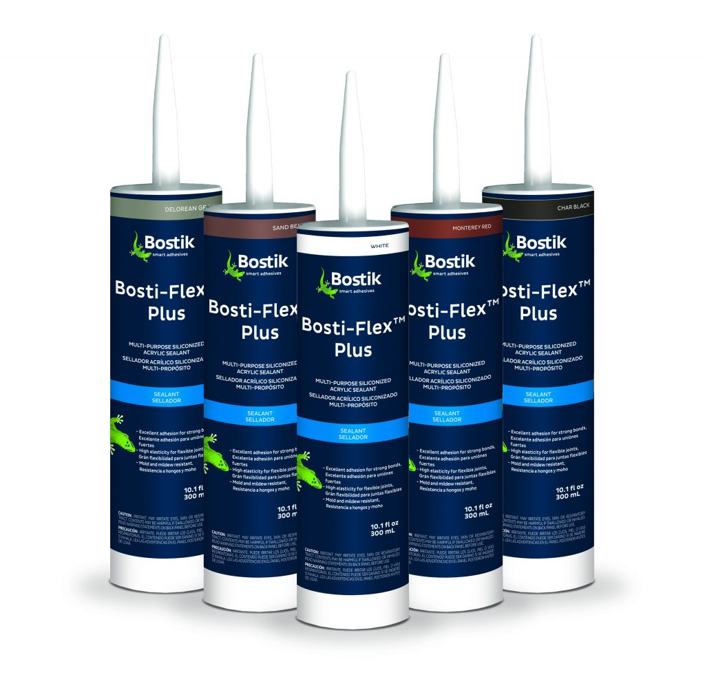 Multipurpose sealant in six colors