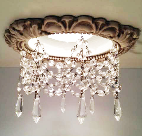 Victorian Style Recessed Trim Light