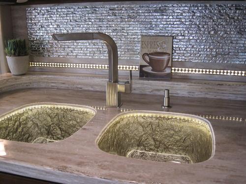Glass Kitchen Sinks