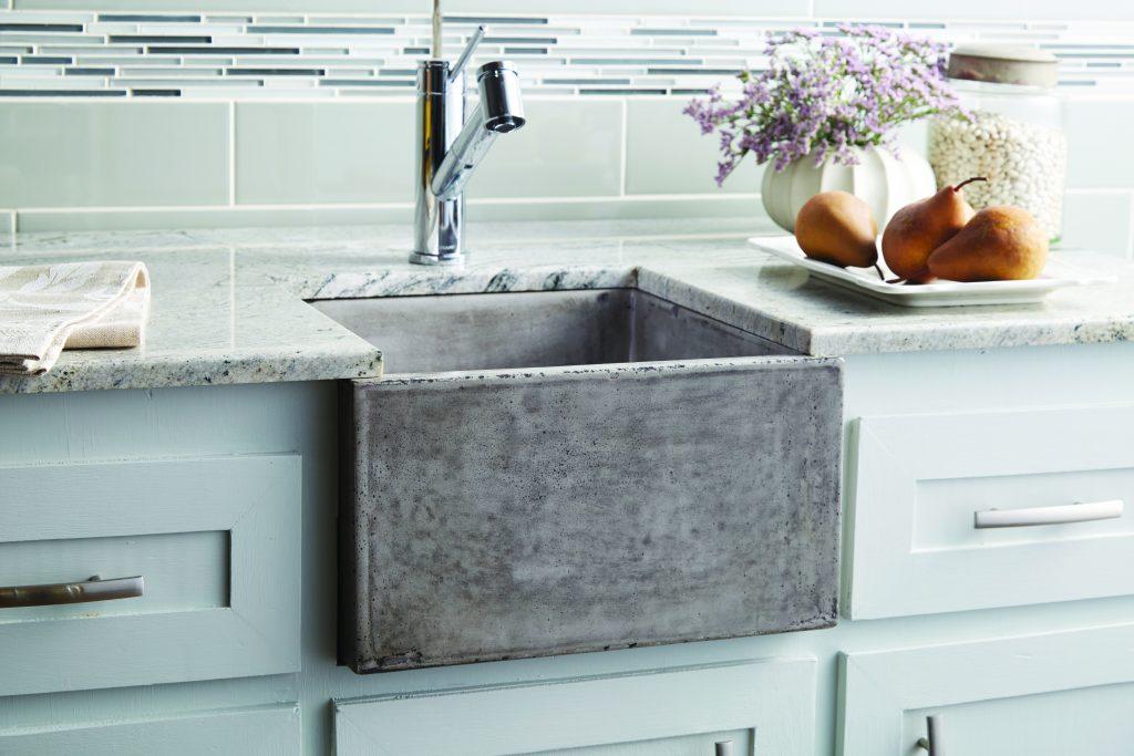 Concrete Bar/Prep Sink