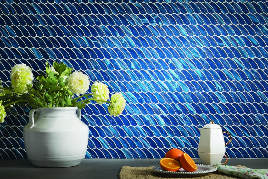 Feather Mosaic Tiles