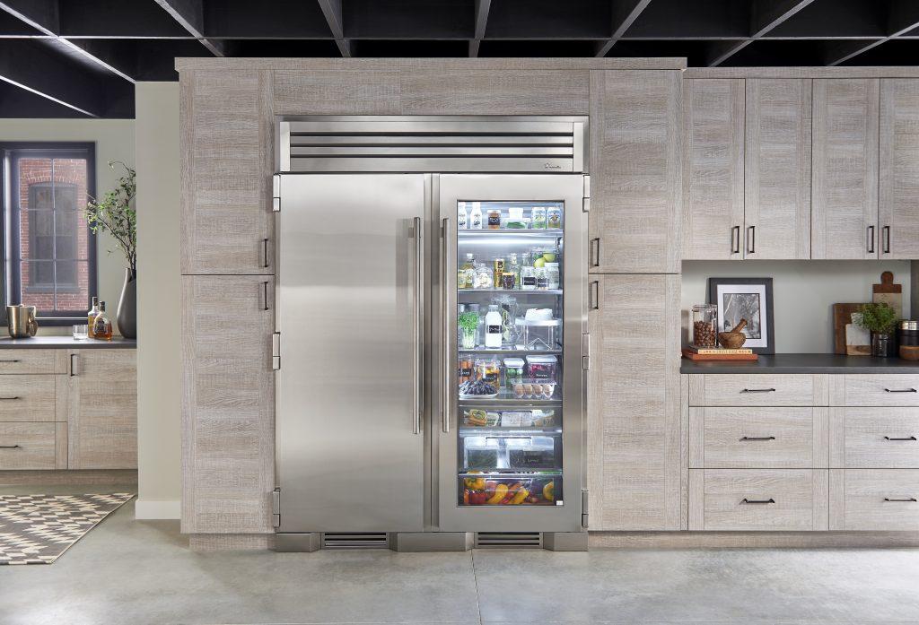 Flexible freezer column