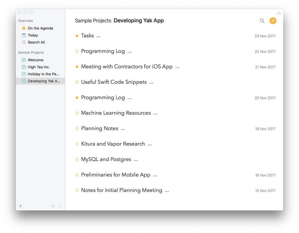 What's App: Agenda