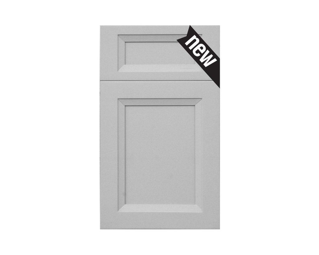 Onyx Nickel Cabinet Door
