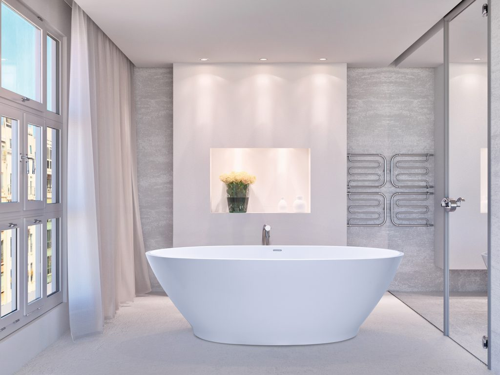 Alcove-scaled Freestanding Tub