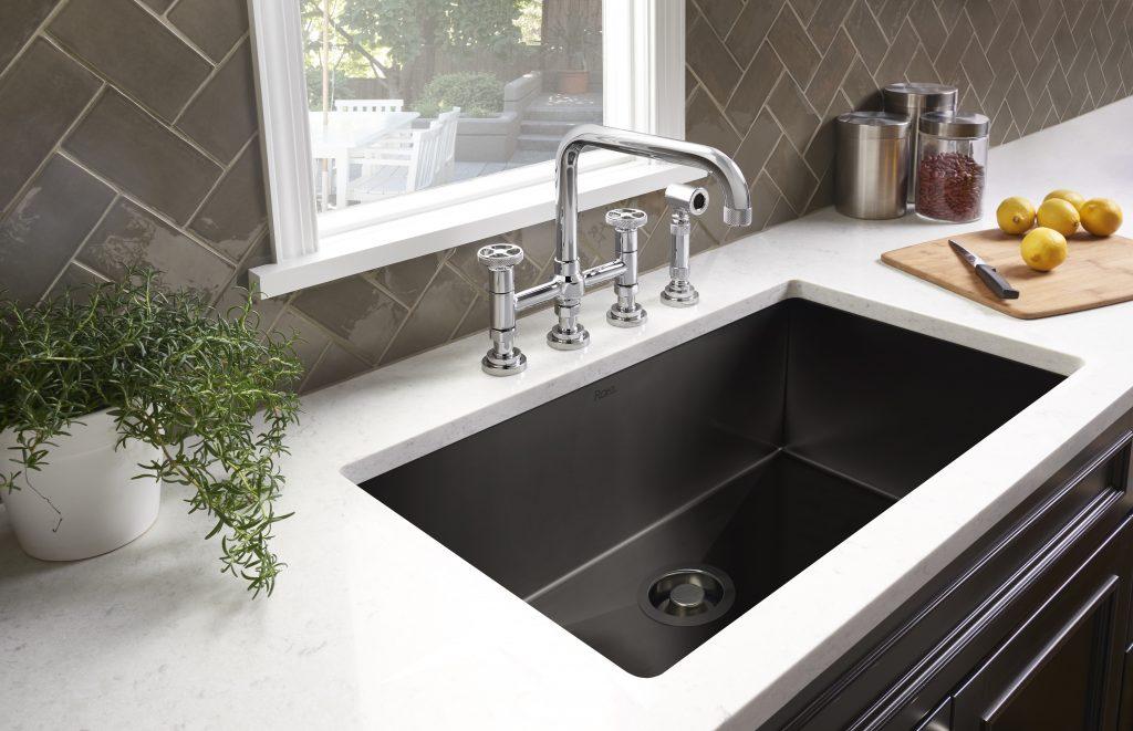 Black Stainless Kitchen Sinks