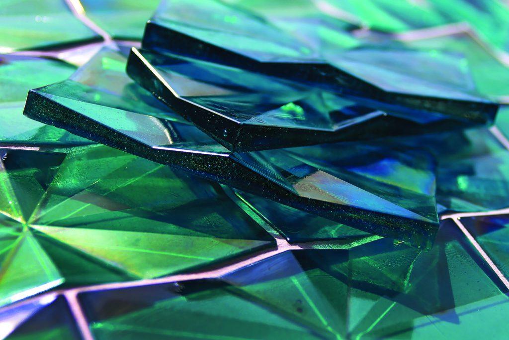 Origami-Inspired Tile