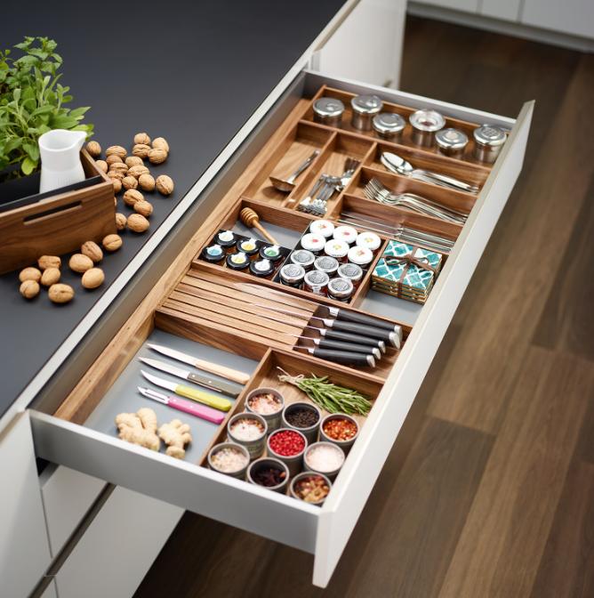 Wood Drawer Divider System
