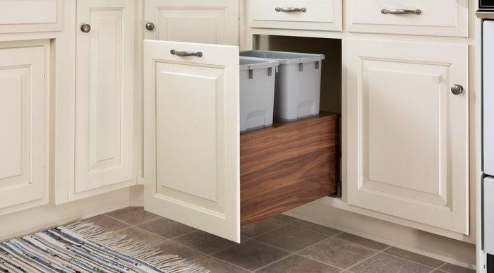Walnut Cabinet Inserts