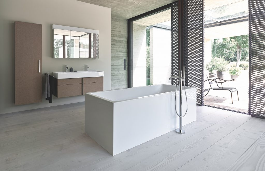 Timeless design reimagined for bathroom collection