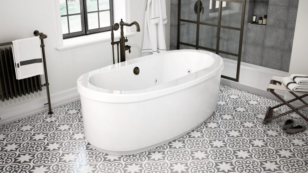 European-designed bathtub filler
