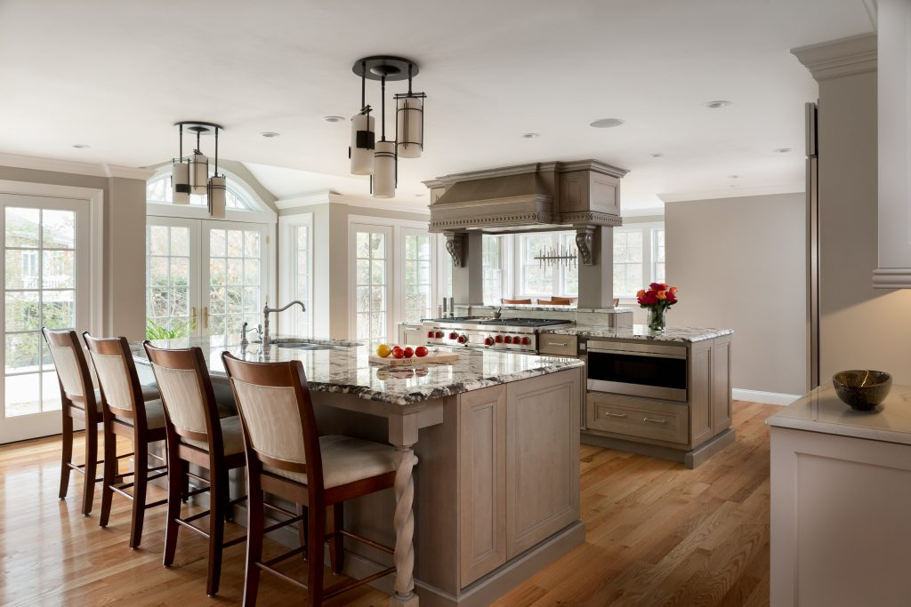 Larger Footprint Transforms Kitchen