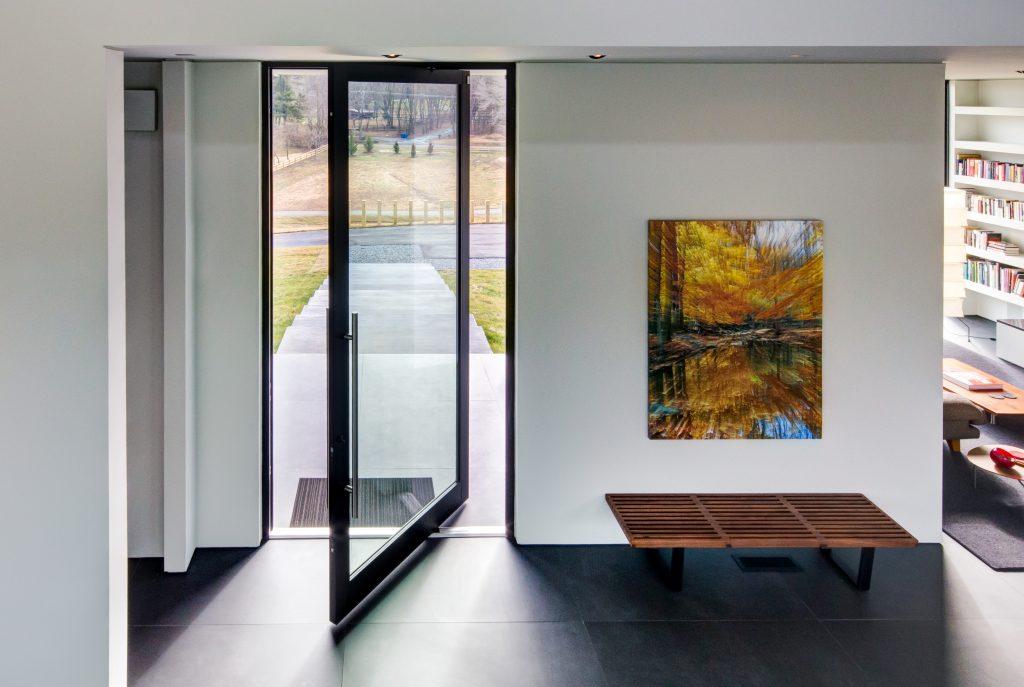 Energy-smart pivot door, windows