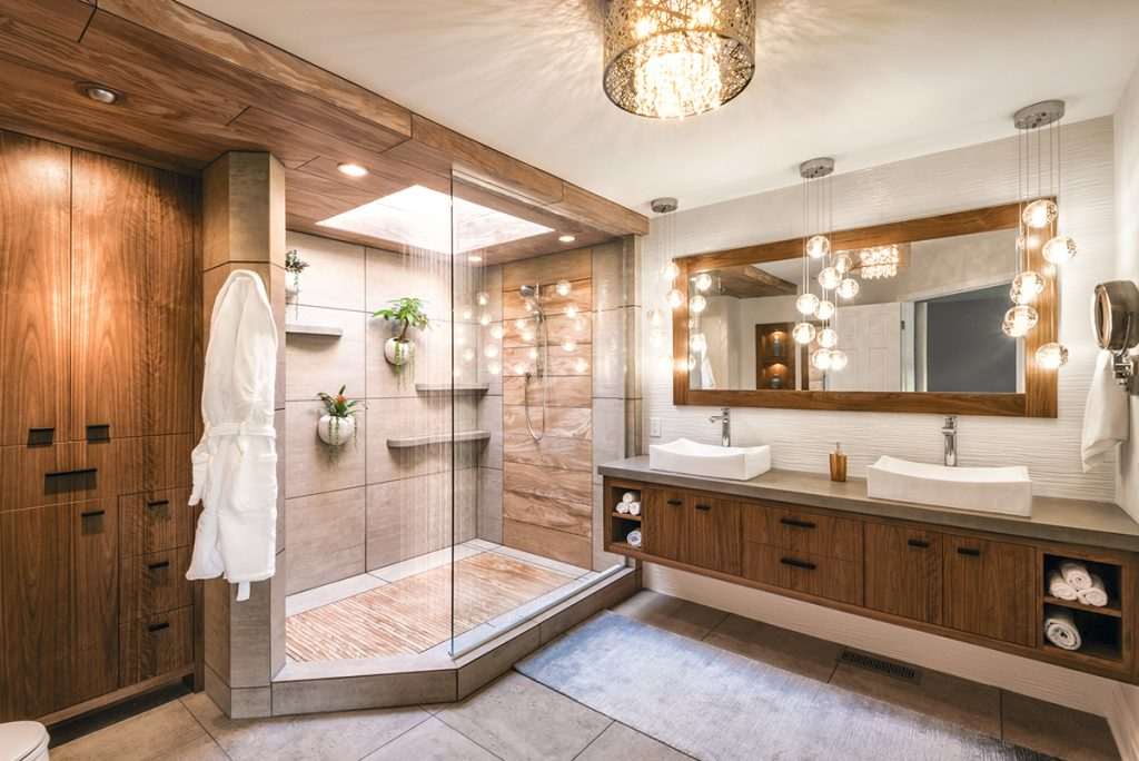 Mother Nature Inspires Master Bath