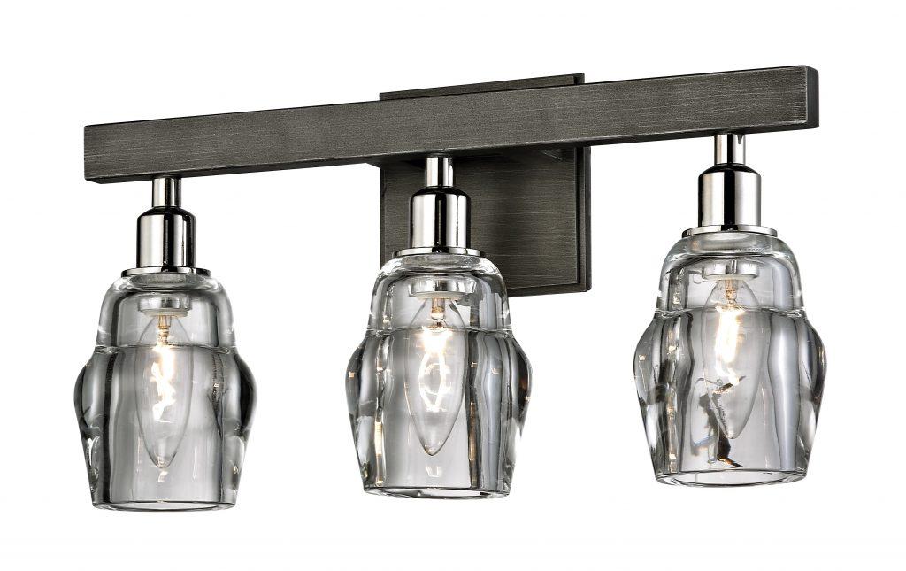 Diverse bath, vanity lighting options