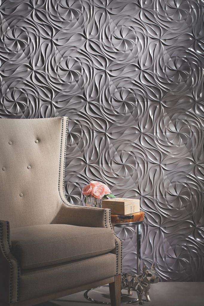 Concrete wall tile makes statement