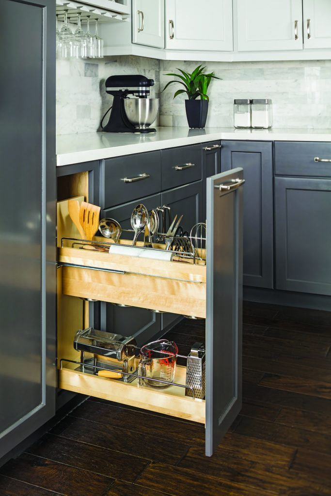 Utensil Cabinet Pullout