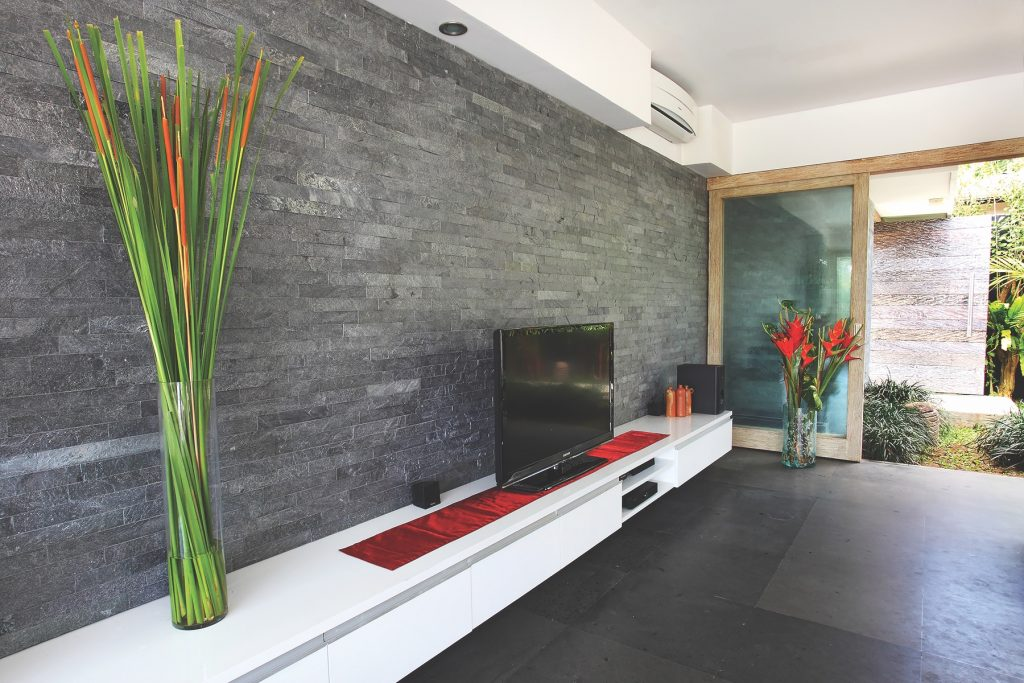 Stone tiles for interior, exterior applications