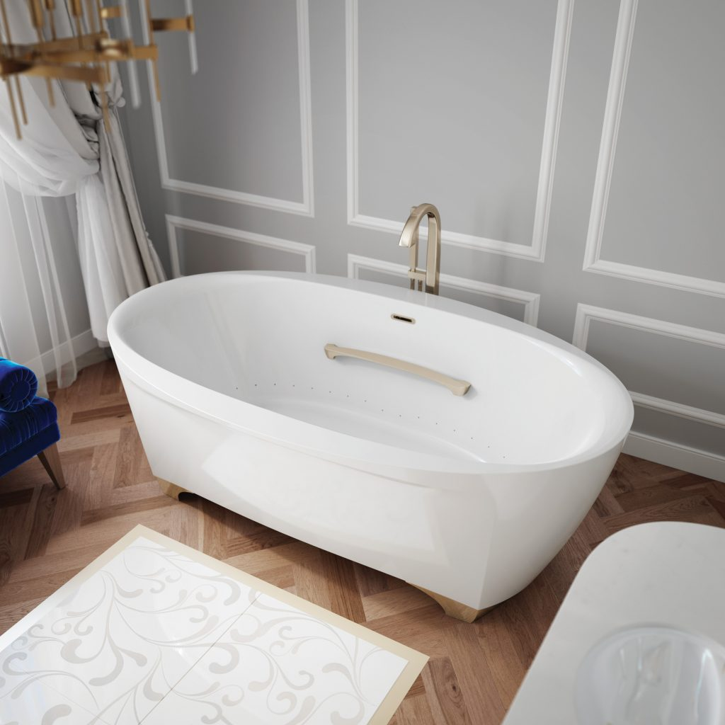 Therapeutic Clawfoot Tub